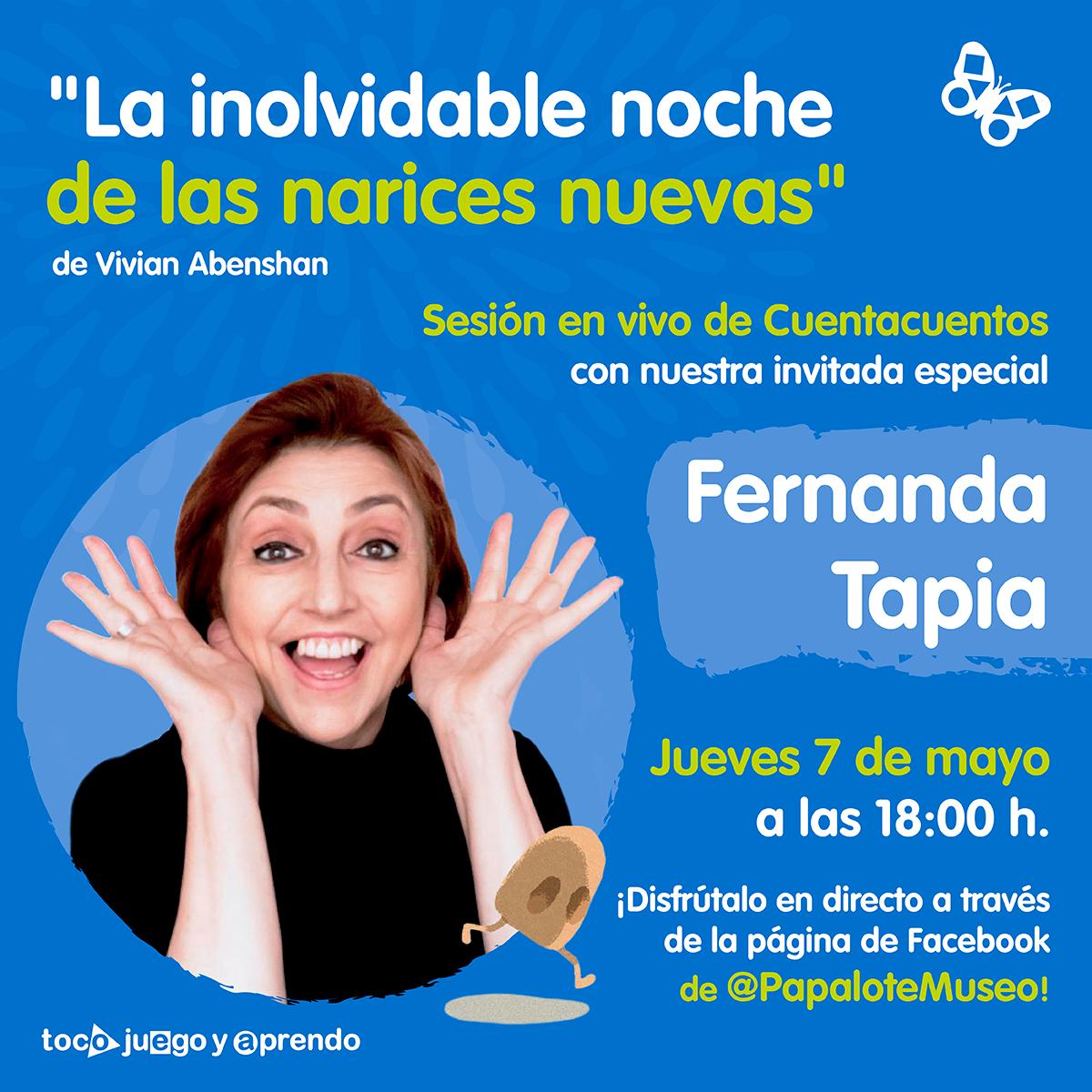 Cuentacuentos Papalote Museo del Niño