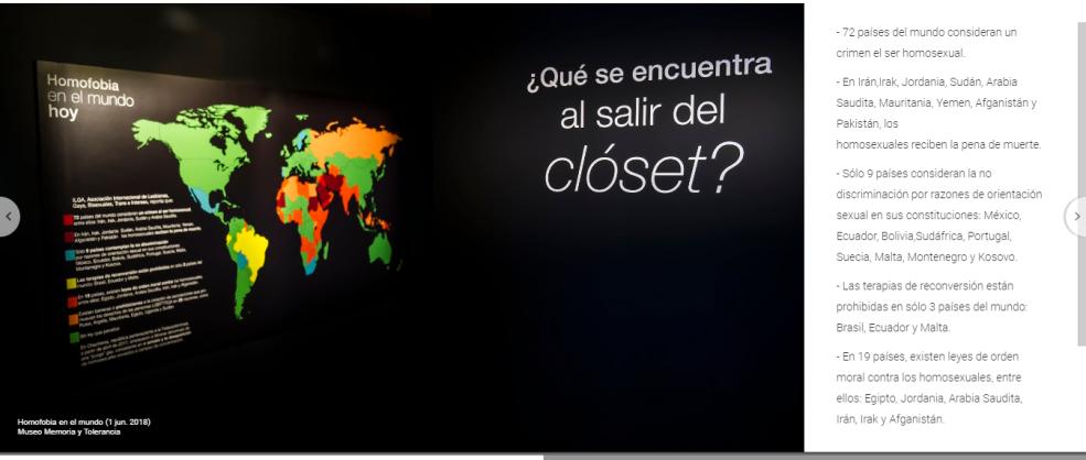 Expo LGBT Museo Memoria y Tolerancia