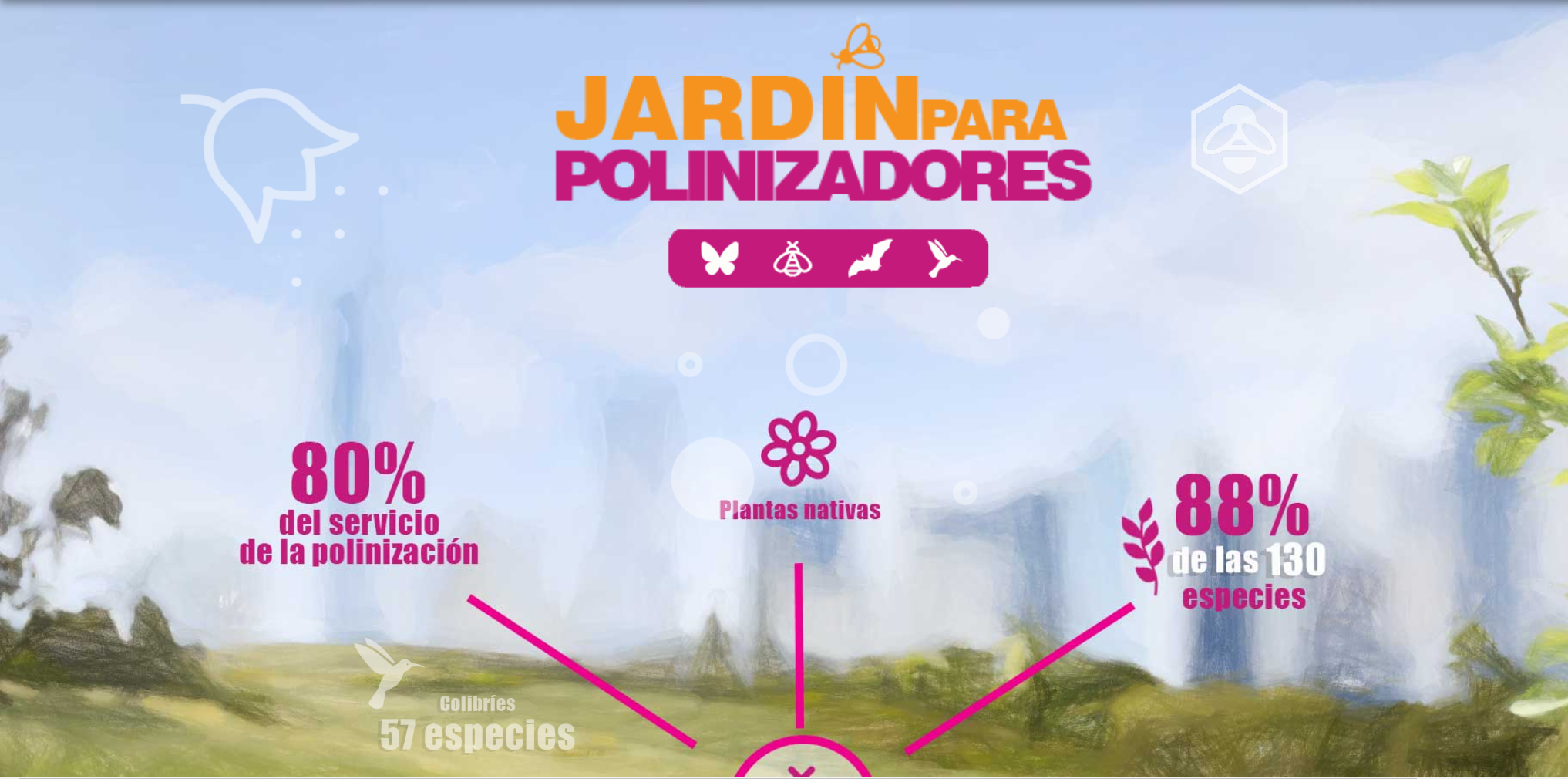 Jardin Polinizadores-Conabio