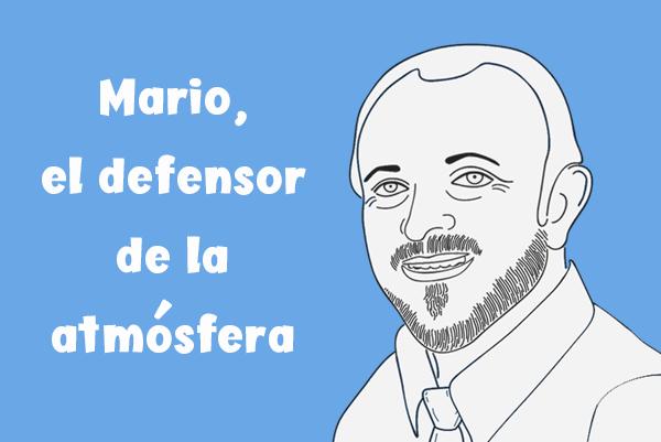 Mario Molina defensor de la atmósfera y Super héroe Zigzag