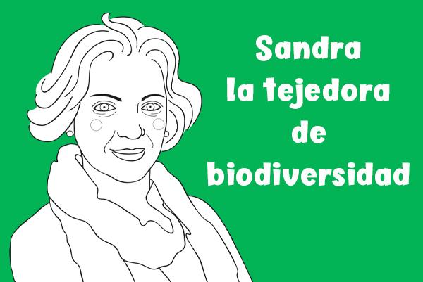 Sandra Myrna Díaz, tejedora de biodiversidad