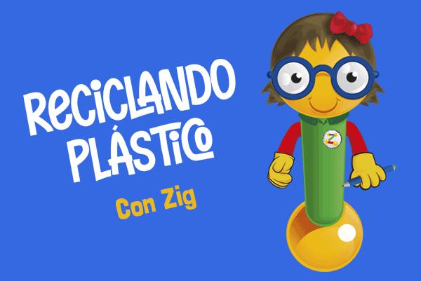 Reciclando plástico con Zigzag y AMANC
