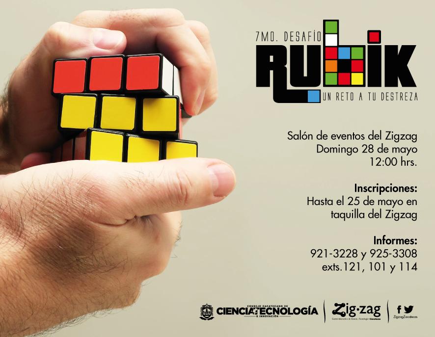 7mo Desafío Rubik en Zigzag
