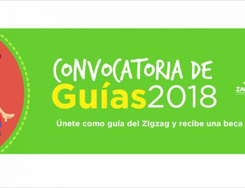 Resultados de la Convocatoria de Guías Zigzag 2018