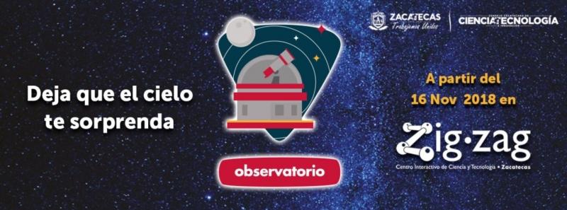 Inauguración Observatorio Zigzag
