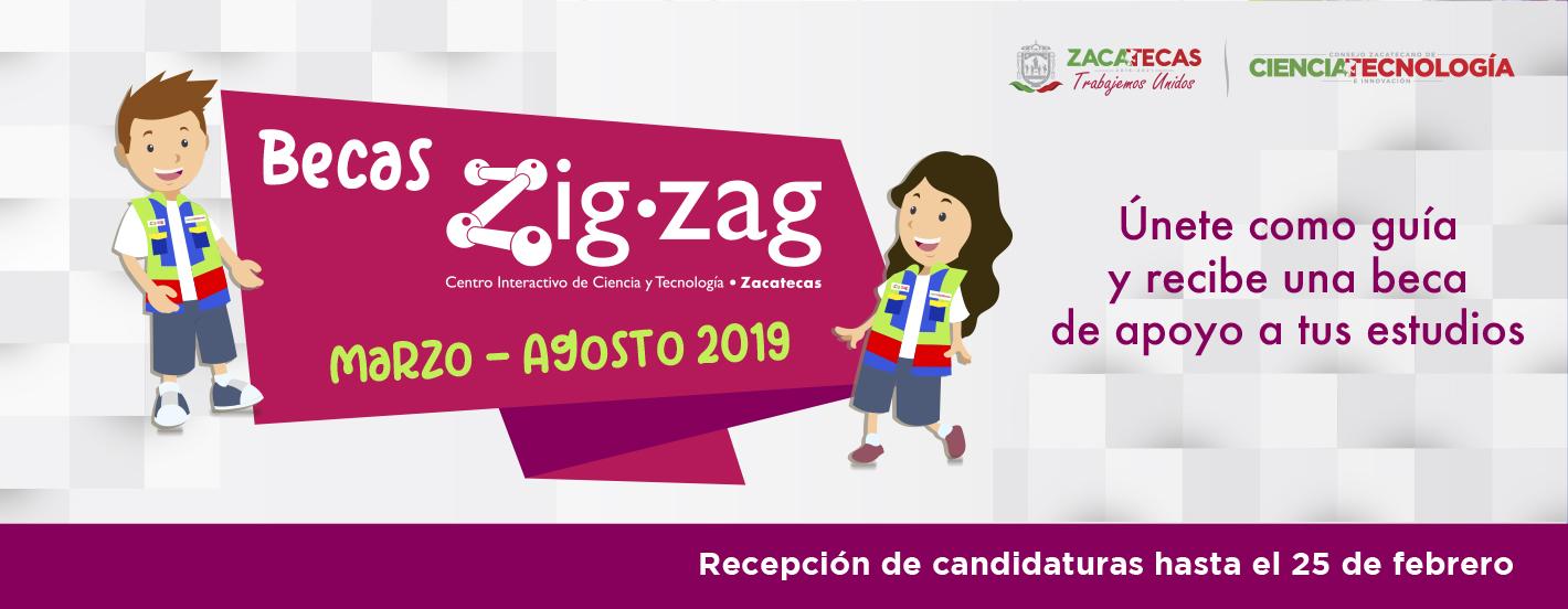 Becas Zigzag Febrero 2019