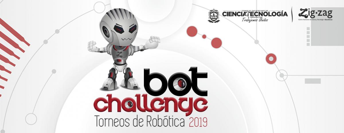 Bot Challenge 2019 - Torneos de Robótica Zigzag