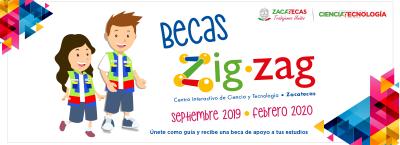 Becas Zigzag Septiembre 2019
