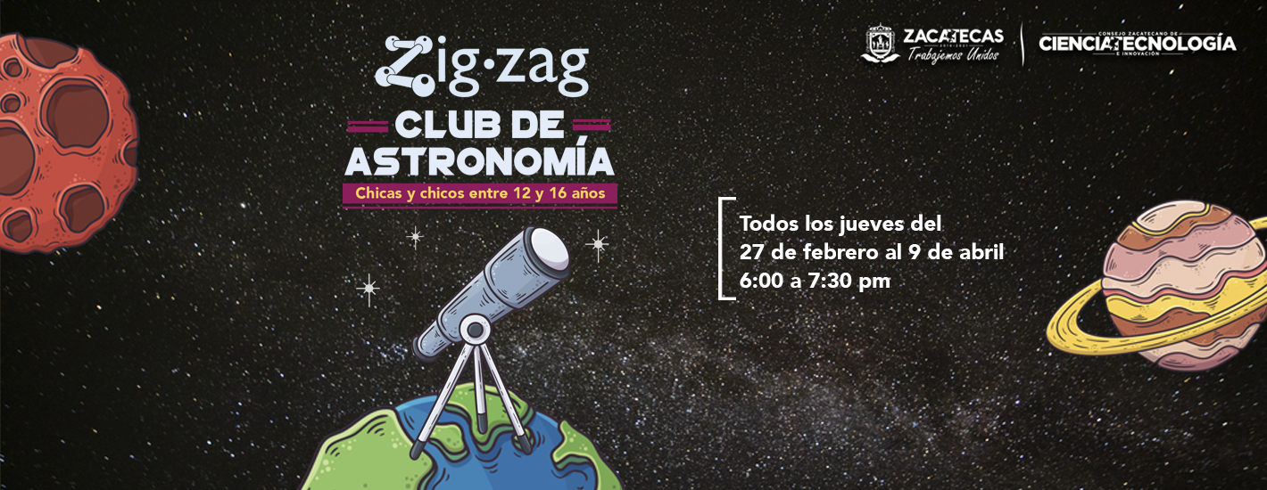 Club de astronomía Febrero 2020