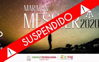 Suspensión Maratón Messier 2020