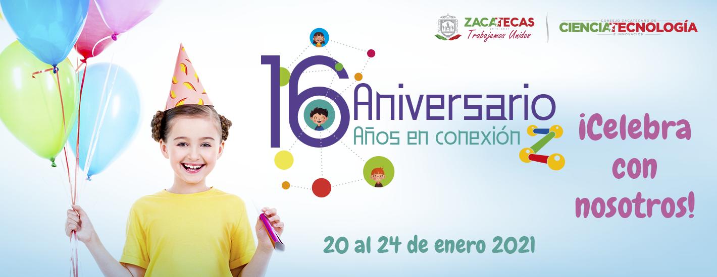 16 aniversario Zigzag