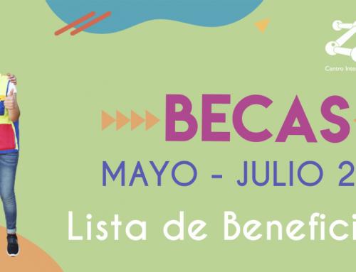 Resultados Becas Zigzag Mayo – Julio 2021